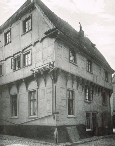 Eine der ältesten Fotografien des Trarbacher Hofes aus dem Jahr 1909. Bild: A. Ludendorff